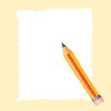 Paper pencil dot paint Stock Photos