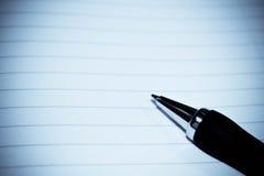 paper penna royaltyfria bilder