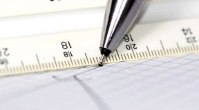 paper penna 2 Royaltyfri Fotografi