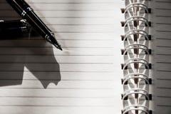 paper penna Royaltyfri Bild
