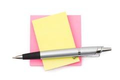 paper penna Royaltyfri Fotografi