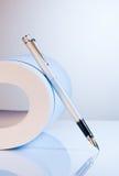 paper penna för springbrunn Royaltyfria Foton