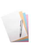 paper penna till Arkivbild