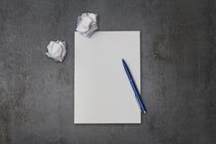 paper pennan Royaltyfri Fotografi