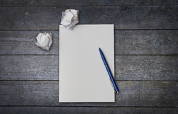 paper pennan Arkivbild