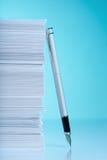 paper pennbunt för springbrunn Royaltyfri Foto