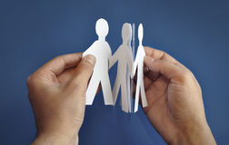 'paper-people' Royalty Free Stock Images