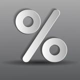 Paper percent Stock Photos