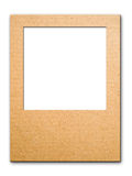 Paper photo frame for web background Stock Photo