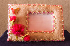 Paper picture frame still life Royalty Free Stock Images