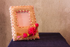 Paper picture frame still life Royalty Free Stock Photo