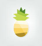 Paper pineapple Royalty Free Stock Photo