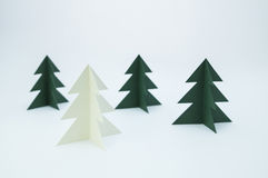 Paper pines Stock Photography