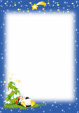 paper pingvin för jul Arkivbilder