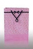 paper pink för påse Royaltyfri Bild