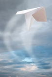 Paper plane Royalty Free Stock Photos