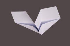 Paper plane. Air aircraft airplane Stock Photo