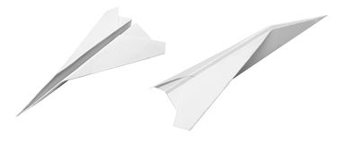 Paper plane Stock Photo