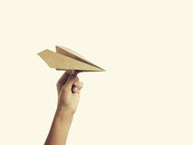 Paper plane3 Royalty Free Stock Photography