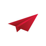 Paper plane origami. Icon  illustration graphic design Stock Photo