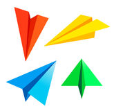Paper plane. Vector illustration . Linear paper plane icon. eps10 vector illustration Royalty Free Stock Image