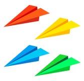 Paper plane. Vector illustration . Linear paper plane icon. eps10 vector illustration Stock Photos