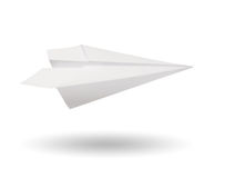 Paper plane Stock Photography