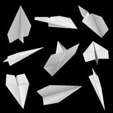 Paper planes Royalty Free Stock Photography