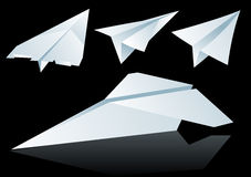 Paper planes Stock Photography