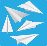 Paper Planes Stock Photo