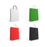 Paper(or plastic) packets.  Royalty Free Stock Photography