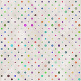 Paper with polka dots  background Stock Photos