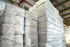 Paper products and goods storehouse Stock Photos