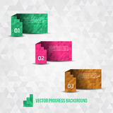 Paper Progress Background stock photos