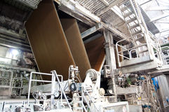 Paper and pulp mill - Factory, Plant Stock Image