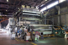 Paper and pulp mill - Factory, Plant Stock Photos