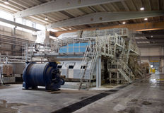 Paper and pulp mill - Factory, Plant Stock Photography