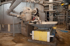 Paper and pulp mill - Pulping Royalty Free Stock Images