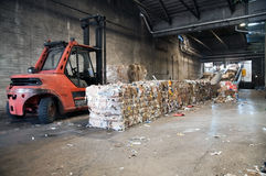 Paper and pulp mill - Recycling Paper Stock Image