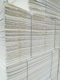 Paper pulp packed. For the paper industry Royalty Free Stock Photos