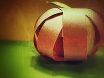 Paper Pumpkin Stock Photos
