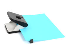 Paper puncher Royalty Free Stock Image