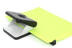 Paper puncher Royalty Free Stock Photos