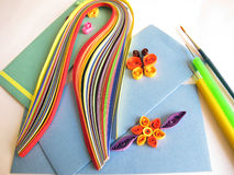Paper Quilling Stock Image