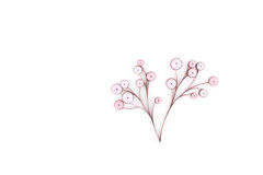 Paper quilling,colorful paper flowers Royalty Free Stock Photography