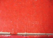 paper röd textur Royaltyfria Foton