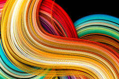 Paper in rainbow colors Royalty Free Stock Photos