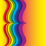 Paper Rainbow Royalty Free Stock Photos