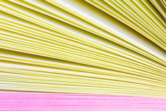 Paper records Stock Image