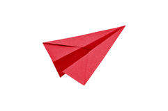 Paper recycle plane Royalty Free Stock Photography